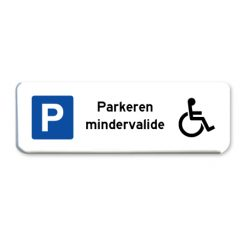 parkeerbord-minder-valide