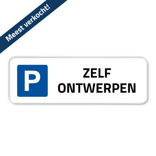 parkeerbord-60x20cm
