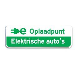 parkeerbord elektrische auto's