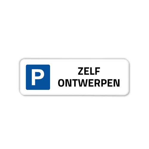 parkeerbord-40x15cm
