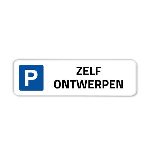 parkeerbord-50x15cm