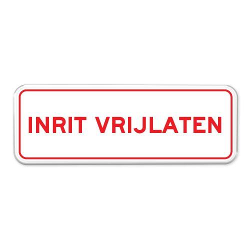inrit-vrijlaten-bord