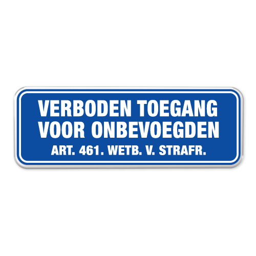 verboden-toegang-bord