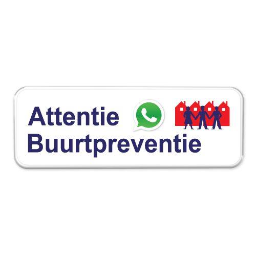 whatsapp-buurtpreventie-bord
