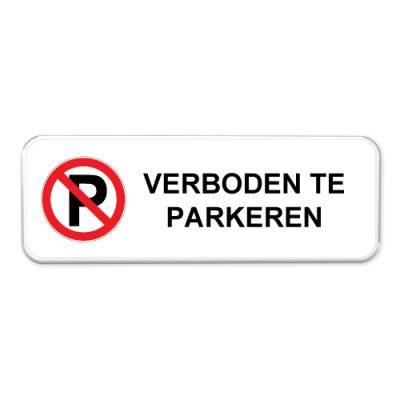 verboden-te-parkeren-bord