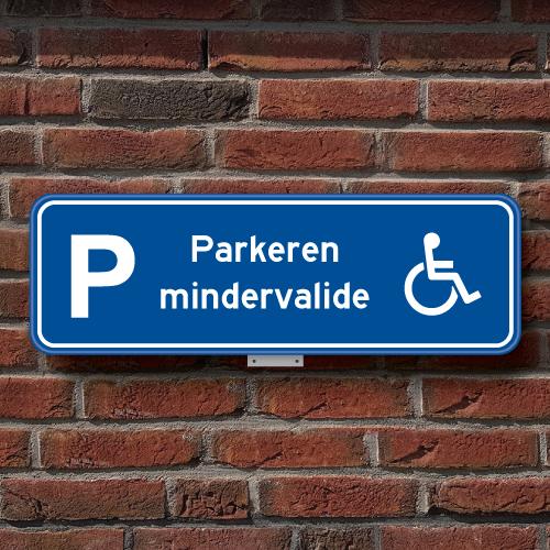 parkeerbord-mindervalide