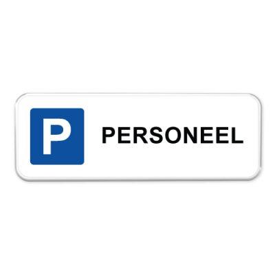 parkeerbord_personeel