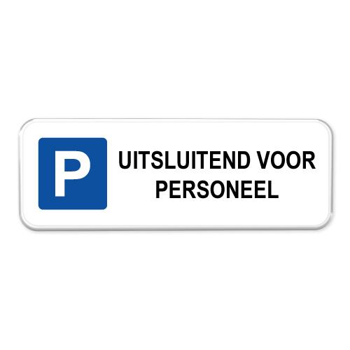 parkeerbord_personeel_II